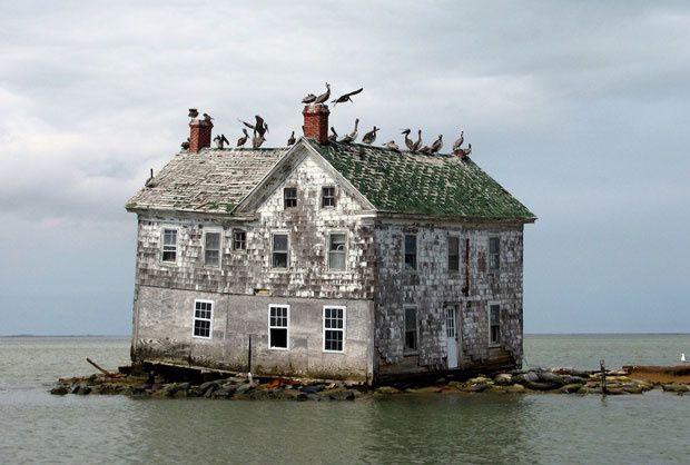 Hollande Island dans la baie de Chesapeake