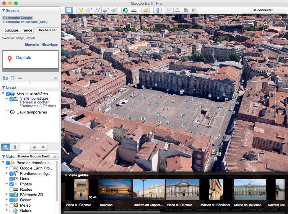 Téléchargez Google Earth et utilisez-le sur votre iPhone, iPad ou iPod touch. Explorez le monde entier vu du ciel. Découvrez l'ensemble du globe avec les images satellite et le relief, ainsi que des bâtiments 3D de centaines de villes.