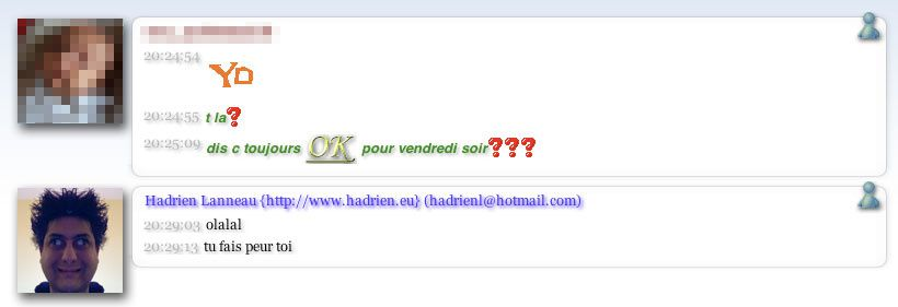 MSN Windows Live Messenger cay le mal