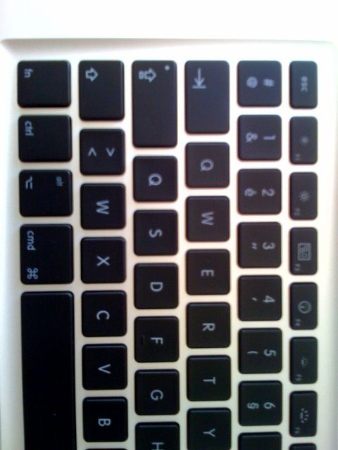 Clavier Mac Book Air collector AZERTY/QWERTY