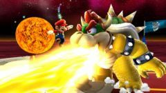 Super Mario Galaxy Bowser Mario Wii