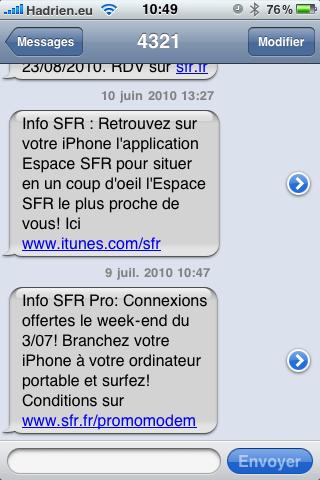 SFR Promo Fail
