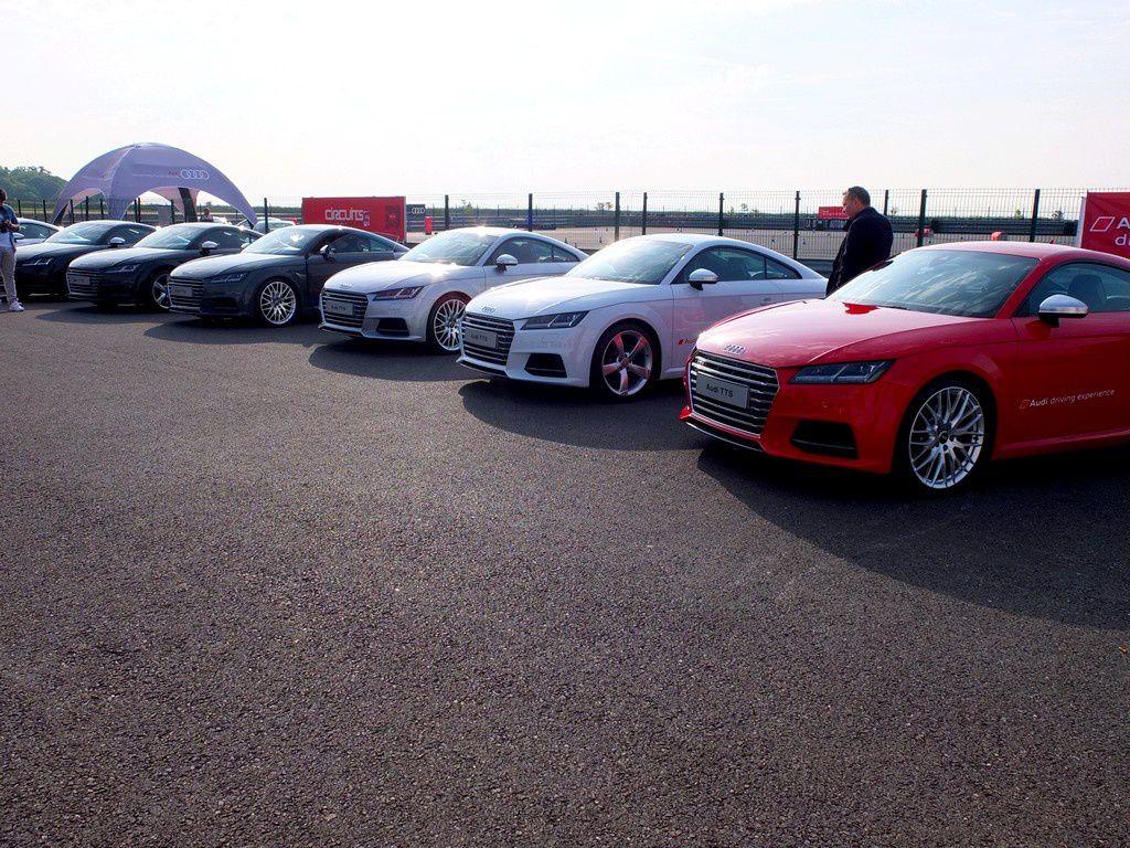 Journée Audi driving experience : quelques heures au volant de modèles S et RS