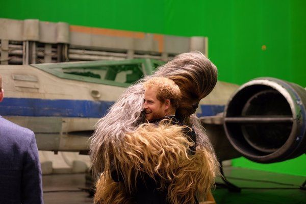 Chewie & le prince Harry !