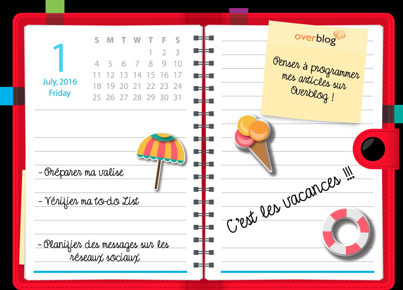 Organisation & planification : la clé pour des vacances reposantes !