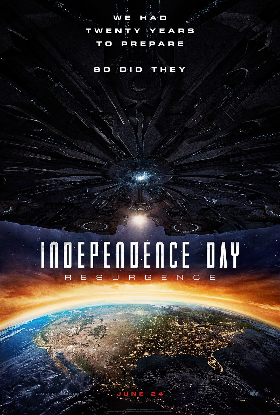 Affiche du film : Independance Day Resurgence
