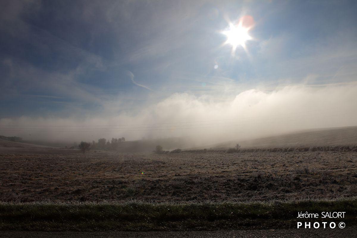 Entre ciel et brume..