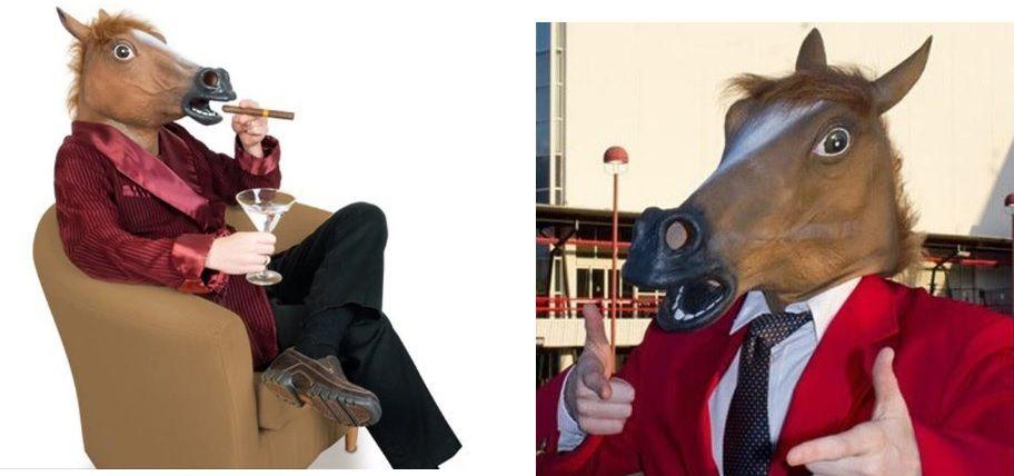 Horse mask for halloween