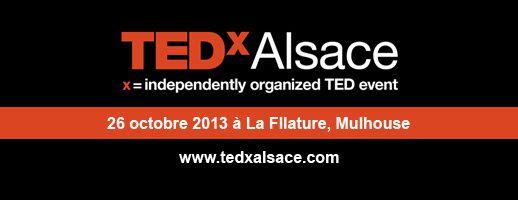 Le TEDxAlsace 2013 c'est demain !