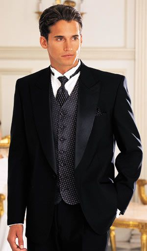 Grooms: A Glossary of Tuxedo Terms and Wedding Tuxedo Styles - Debut ...