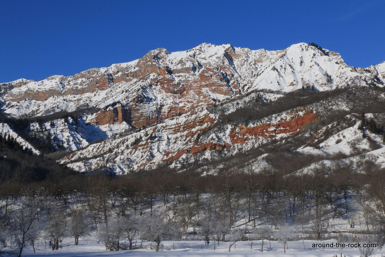 Un hiver au Kirghizistan