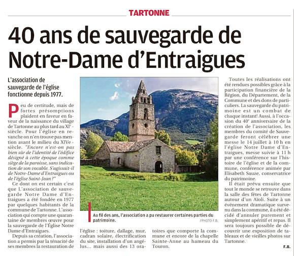Barrême , Castellane Colmars les Alpes , Tartonne , St André les Alpes