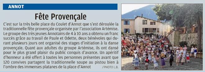 Annot , Barrême , Castellane ( Robion)
