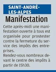 Annot , Allons, Barrême, Lambruisse, St André les Alpes