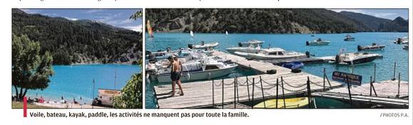 Annot  Barrême ,Beauvezer,Castellane ,Clumanc , Moriez ,  Zoom sur les activités de St Julien du Verdon et le lac de Castillon