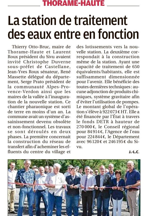 Allos Castellane, Colmars les Alpes,  St Julien du Verdon , Thorame Haute, Moriez , La Palud sur Verdon