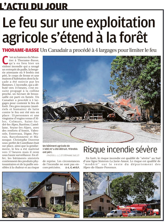 Thorame Basse , Colmars les Alpes , Moriez