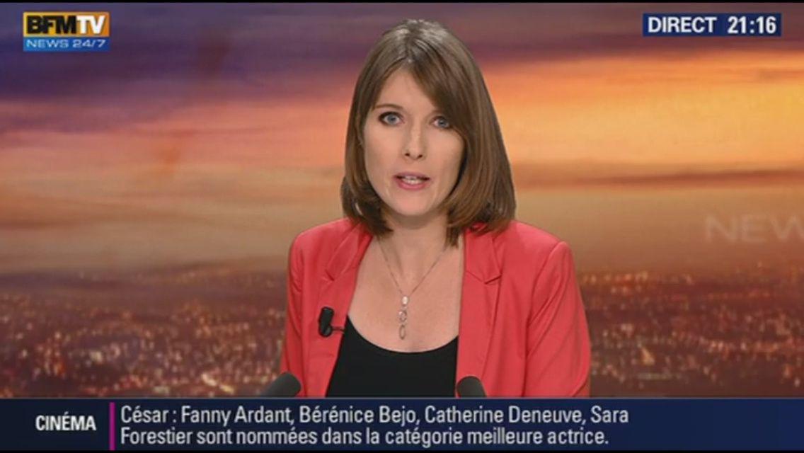 [EN CE MOMENT] LUCIE NUTTIN pour WEEK-END 360 sur BFM TV