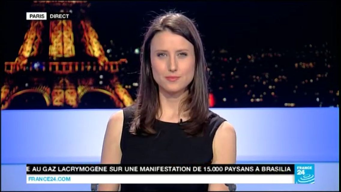 En ce moment aude lechrist pour paris direct sur france 24 - Salon a paris en ce moment ...