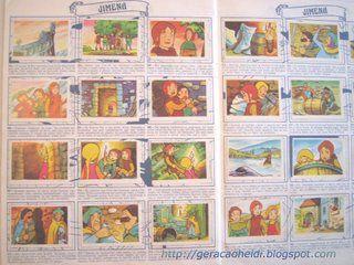 Album de Cromos de Ruy el pequeño Cid: historia de españa con mucha imaginación hecha comic