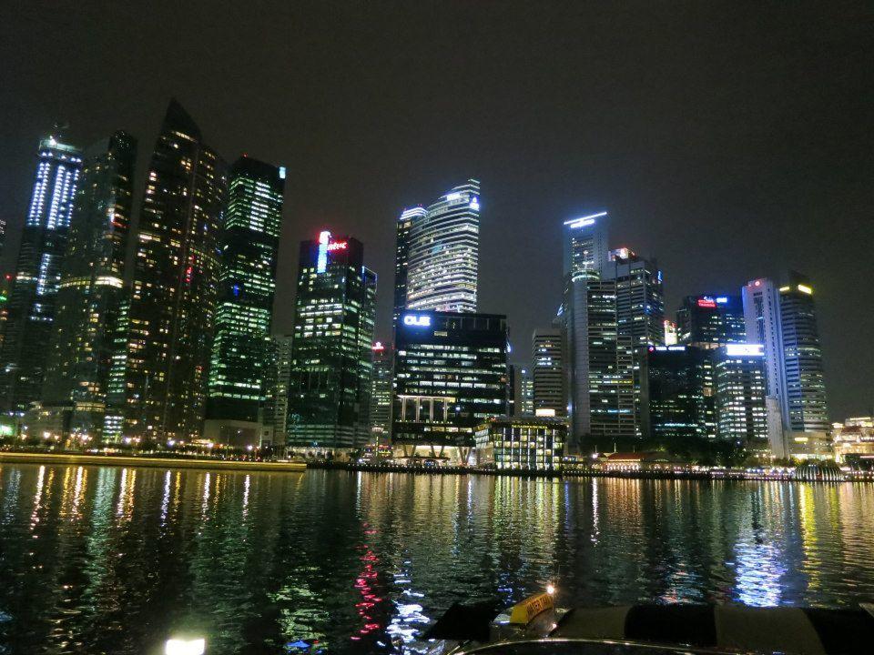 La boucle est bouclée: Singapour...