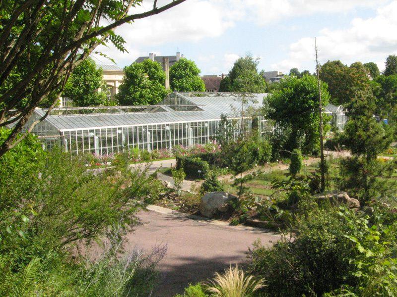Le jardin botanique de Caen