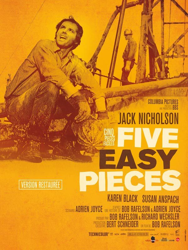 Cinq pièces faciles - Bob Rafelson