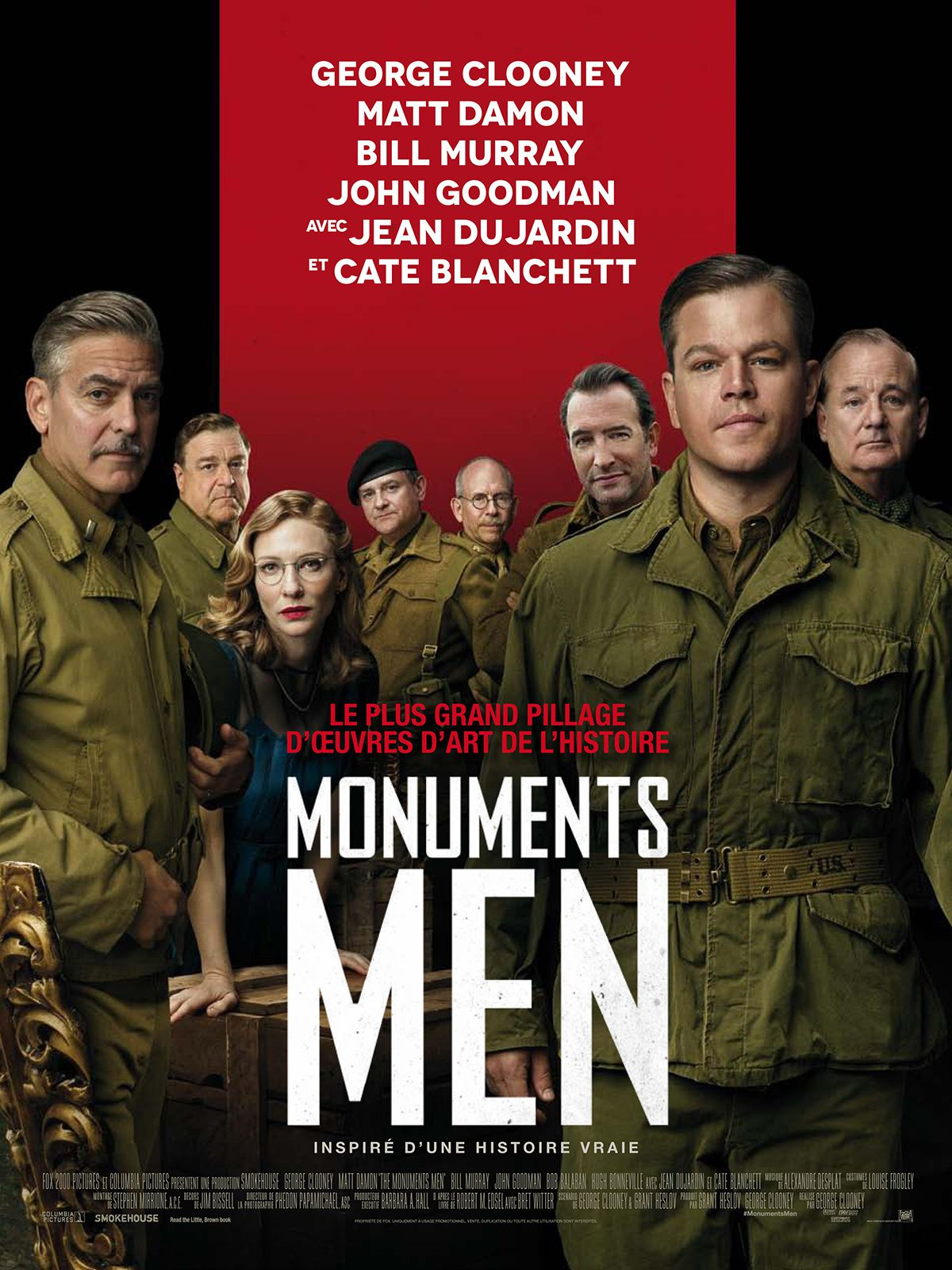 Monuments Men - George Clooney