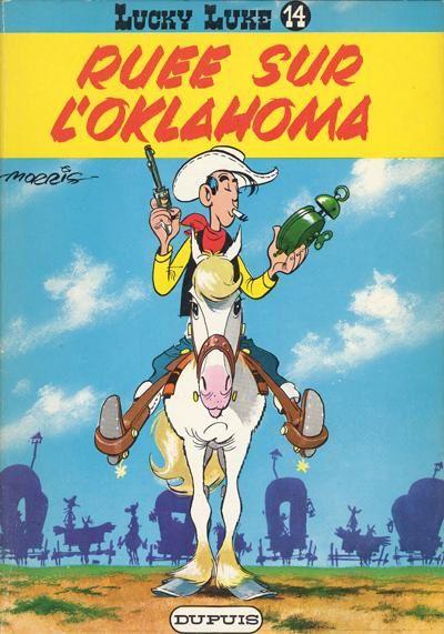 Lucky Luke : Ruée sur l'Oklahoma -  Morris &amp&#x3B; Goscinny