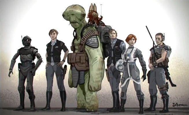 Tout l'Art de Rogue One - A Star Wars Story - Huginn &amp&#x3B; Muninn