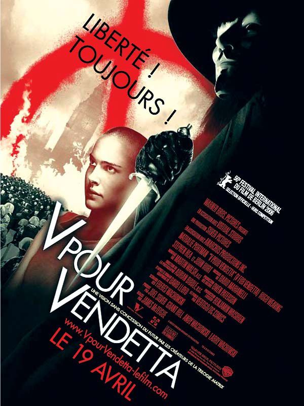V pour Vendetta - James McTeigue