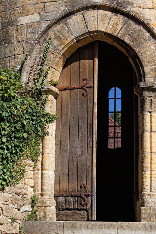 Fin d'été à Sarlat (Périgord, Dordogne, France)