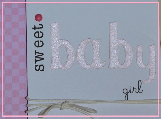 Cartes {sweet baby}