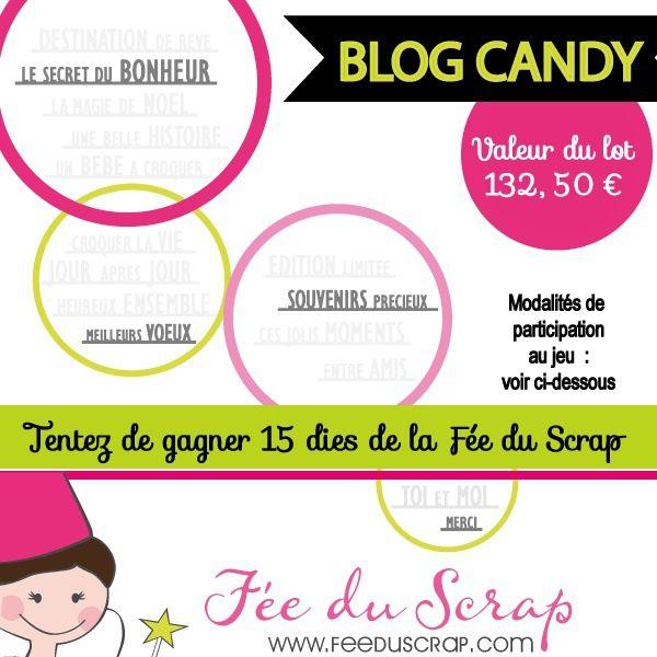 MEGA Blog Candy Fée du scrap