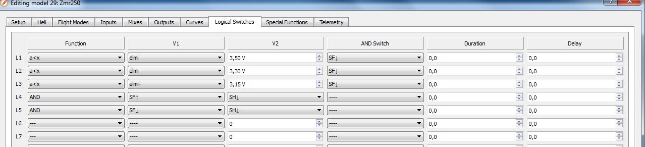 volt sencor frsky opentx 2.1.6