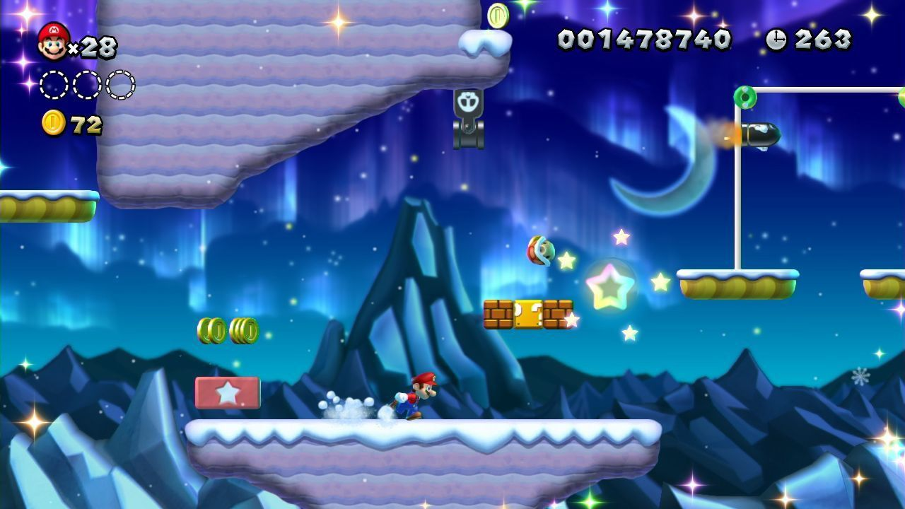 New super mario bros u wii u - Passage secret mario bros wii ...