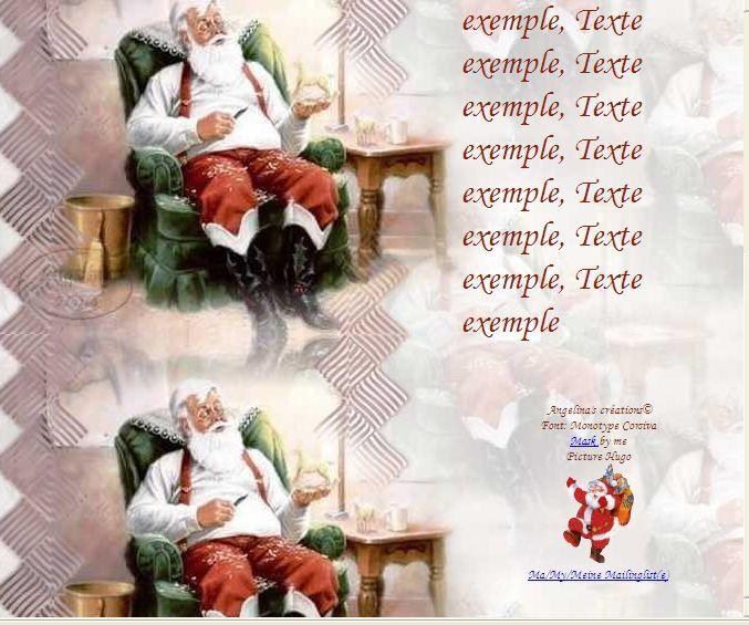 Noël Incredimail & Papier A4 h l & outlook & enveloppe & 2 cartes format A5