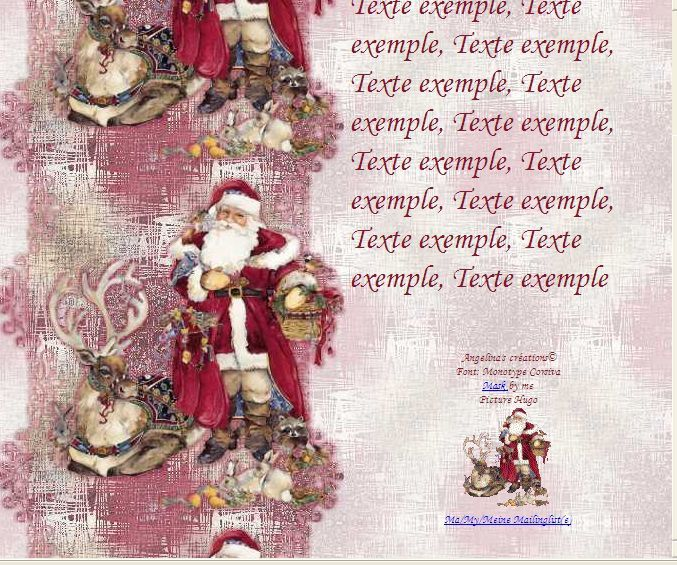 Noël Père Noël animaux Incredimail &amp&#x3B; Papier A4 h l &amp&#x3B; outlook &amp&#x3B; enveloppe &amp&#x3B; 2 cartes format A5   th_noel_perenoel_animaux_hugo_486ff186_00