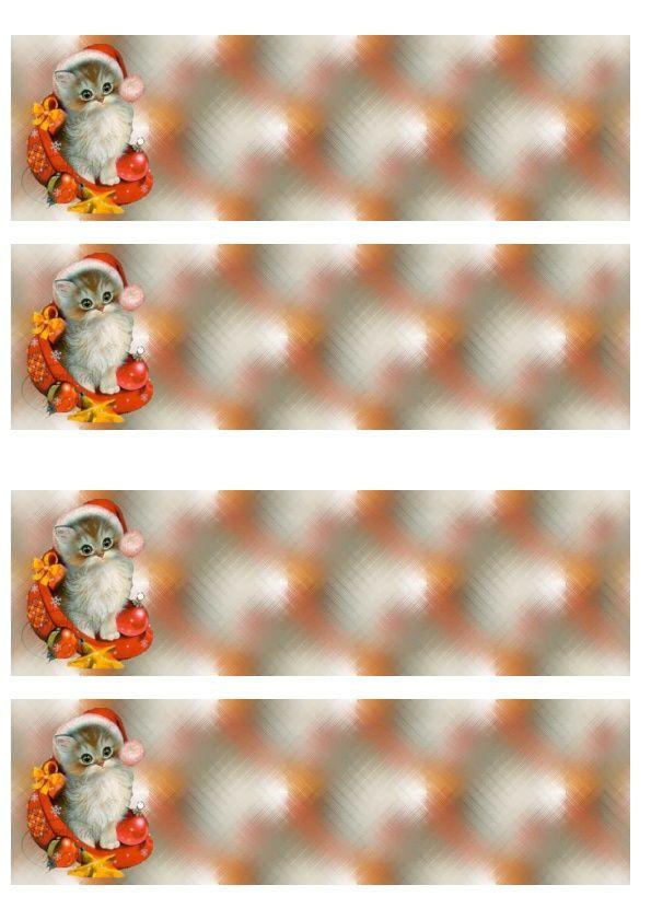 Thème Noël Incredimail &amp&#x3B; Papier A4 h l &amp&#x3B; outlook &amp&#x3B; enveloppe &amp&#x3B; 2 cartes A5 &amp&#x3B; signets 3 langues plus Noël multilangues  th_noel_image_chat_noel