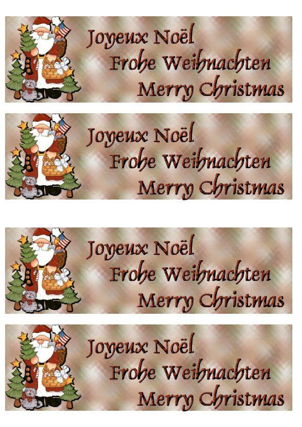 Thème Noël Incredimail &amp&#x3B; Papier A4 h l &amp&#x3B; outlook &amp&#x3B; enveloppe &amp&#x3B; 2 cartes A5 &amp&#x3B; signets 3 langues plus Noël multilangues   th_noel_pc_santaetfriendsshea