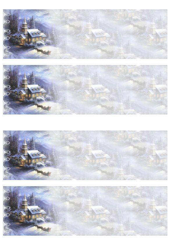 Thème Noël Incredimail &amp&#x3B; Papier A4 h l &amp&#x3B; outlook &amp&#x3B; enveloppe &amp&#x3B; 2x2 Cartes A5 &amp&#x3B; signets 3 langues plus Noël multilangues  th_noel_kinchurch