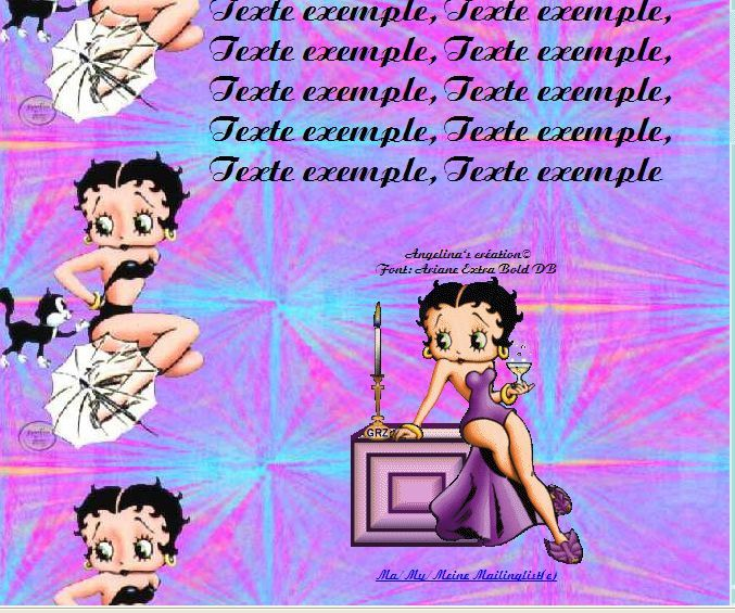 Betty Boop Incredimail &amp&#x3B; Papier A4 h l &amp&#x3B; outlook &amp&#x3B; enveloppe &amp&#x3B; 2 cartes A5 &amp&#x3B; signets 3 langues  BettyBoop22
