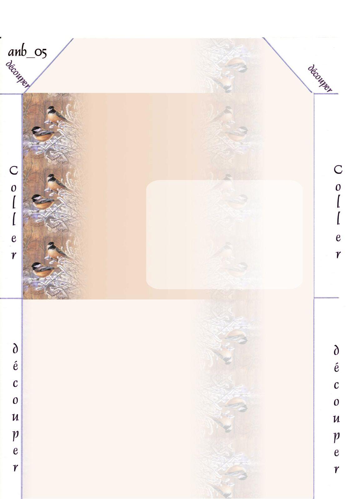 Oiseaux Incredimail &amp&#x3B; Papier A4 h l &amp&#x3B; outlook &amp&#x3B; enveloppe &amp&#x3B; 2 cartes A5 &amp&#x3B; signets 3 langues   apindex085_brucemiller