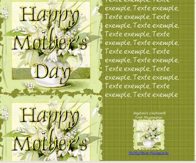 Happy Mother's Day Incredimail &amp&#x3B; A4 h l &amp&#x3B; outlook &amp&#x3B; enveloppe &amp&#x3B; 2 cartes A5 &amp&#x3B; signets happy_mothers_day_bastin11