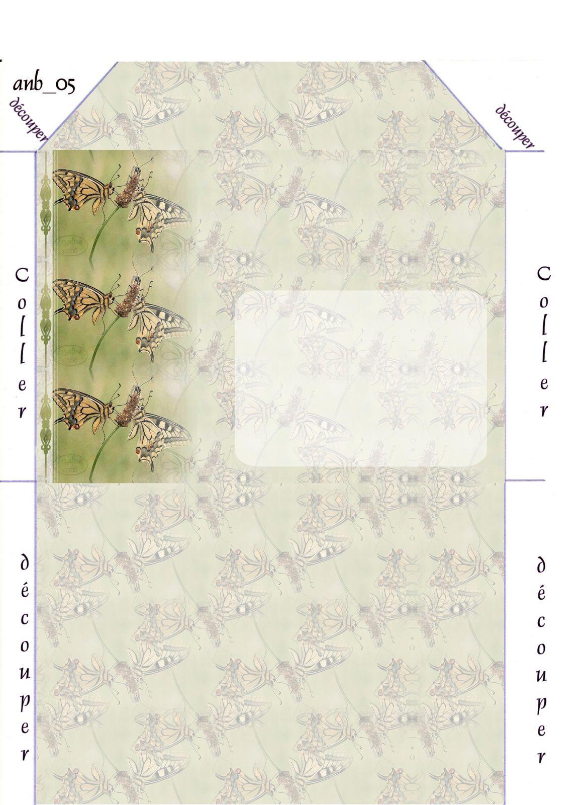 Papillons Incredimail &amp&#x3B; Papier A4 h l &amp&#x3B; outlook &amp&#x3B; enveloppe &amp&#x3B; 2 cartes A5 &amp&#x3B; signets 3 langues      pap_1202233578574