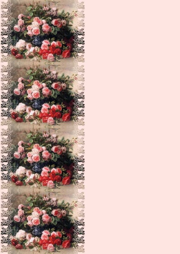Roses rose et rouge Incredimail &amp&#x3B; Papier A4 h l &amp&#x3B; outlook &amp&#x3B; enveloppe &amp&#x3B; 2 cartes A5 &amp&#x3B; signets 3 langues     still_life_with_pink_and_red_roses