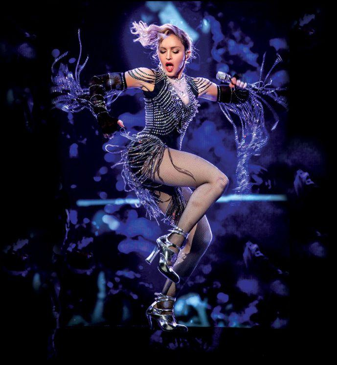 Sortie D.V.D Culte: The Rebel Heart Tour Madonna