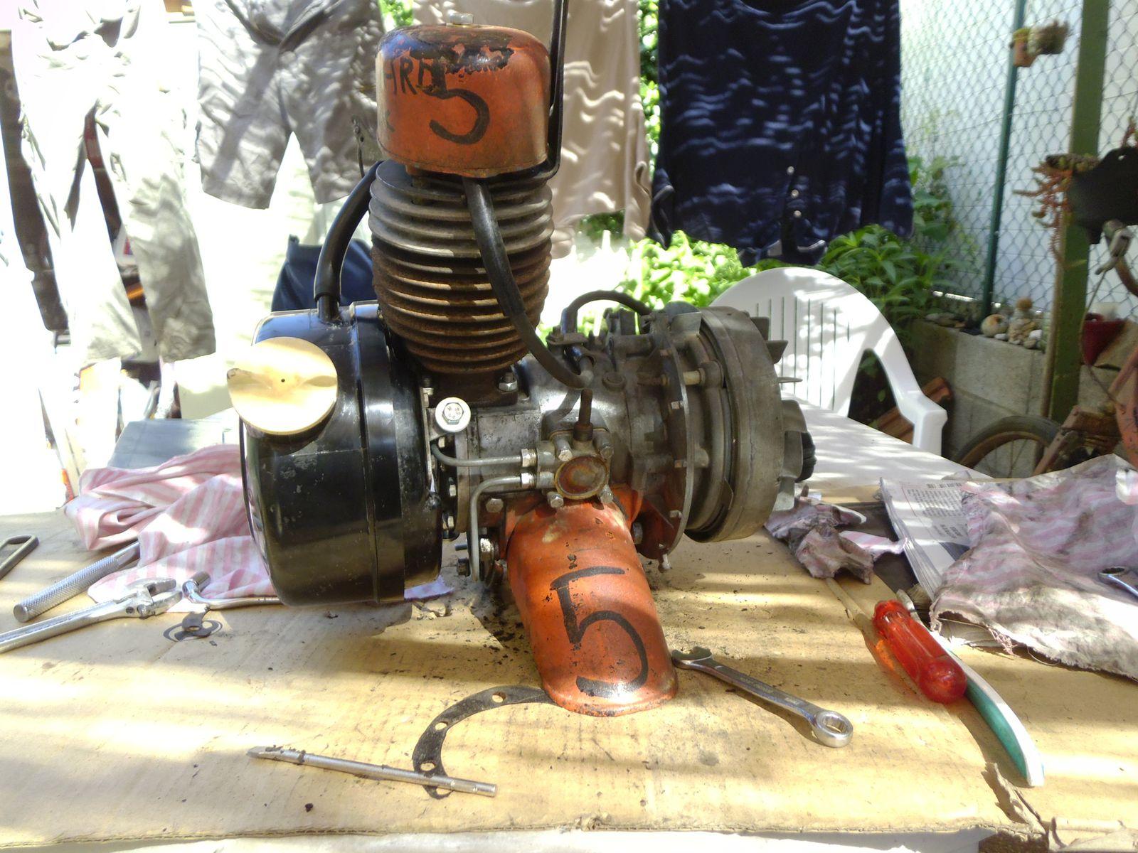 moteur Solex remonté et propre (3)