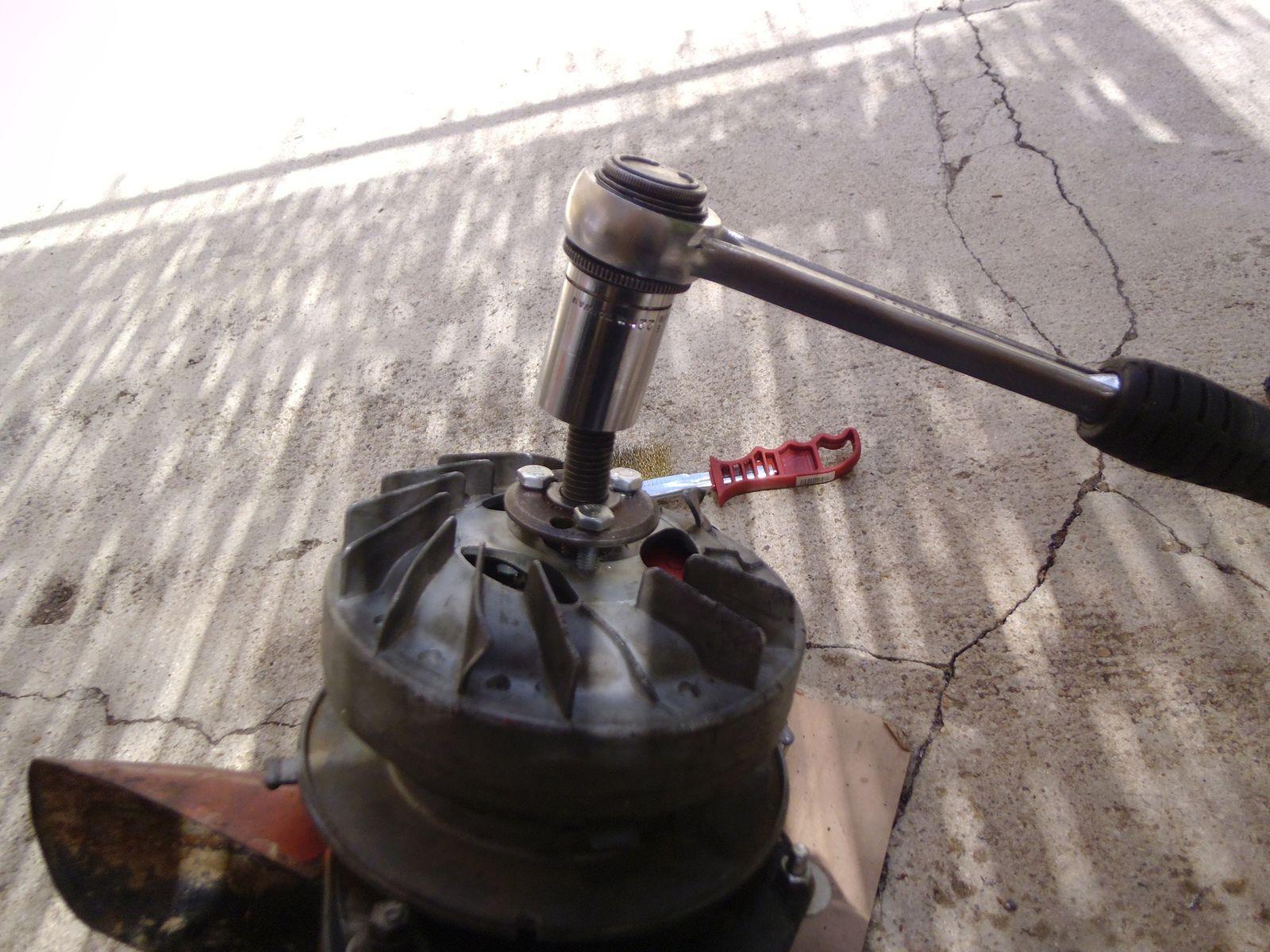 extraction volant magnétique Solex