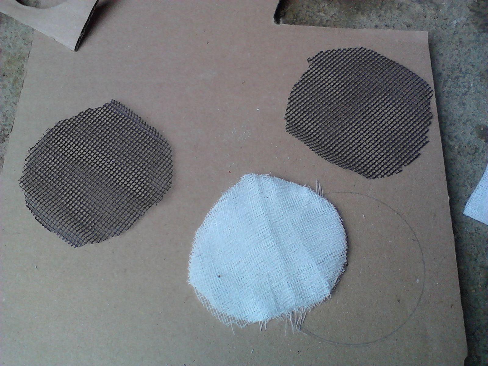 Fabrication filtre à air pour Solex